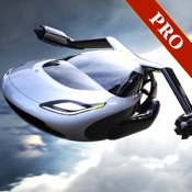 sport flying car simulation 2017 PRO