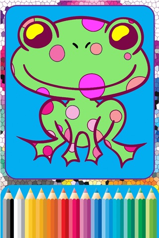 Giraffe Coloring Cute Wild Animals fun doodling screenshot 3