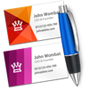 Business Card Designer - Create business cards - Wombat Apps LLC