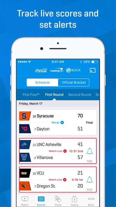 NCAA March Madness Live - Men's College Basketball iPhone