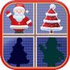 Christmas Matching Pairs - Santa Slaus and Xmas pairs
