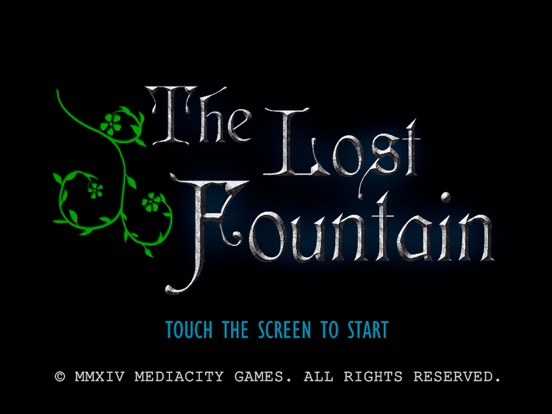 The Lost Fountain App Voor Iphone Ipad En Ipod Touch