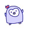 Cute Penguin Stickers!!