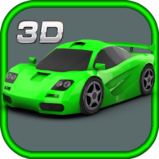 3D Crash Cars Hardway Racing iOS App