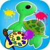 The Turtle Coloring Game For Kids