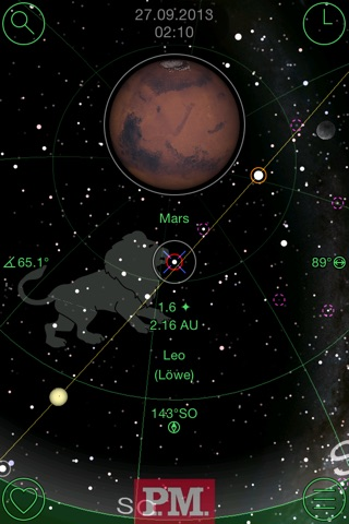 GoSkyWatch Planetarium - Astronomy Night Sky Guide screenshot 1