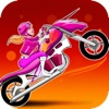 Pink Candy Lady Racers - Free Unicorn Bike Saga Multiplayer Game