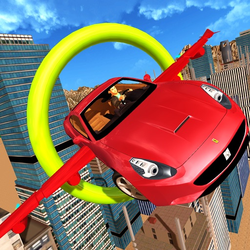 Flying Car Extreme GT Stunts iOS App