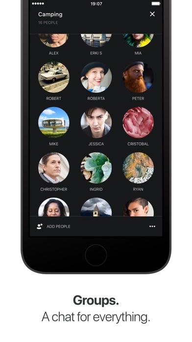 Wire — Sicherer Messenger Screenshot