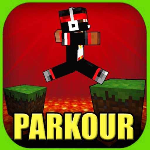 PARKOUR MAPS FOR MINECRAFT - PE POCKET EDITION ! by Thai Quoc