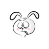 Little Mad Rabbit stickers by wenpei Wiki
