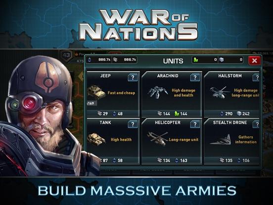 War of Nations™ - PVP Strategy на iPad