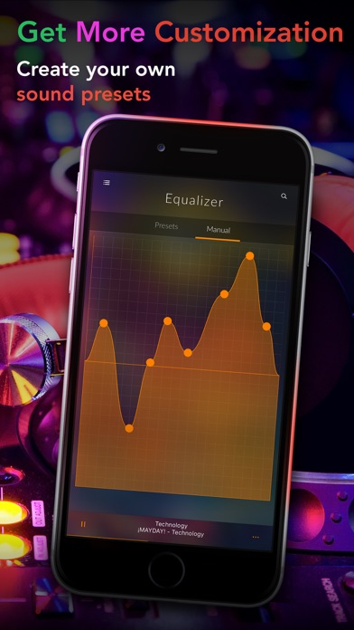 Screenshot #10 for Equalizer+ Pro Music Player and Volume Booster