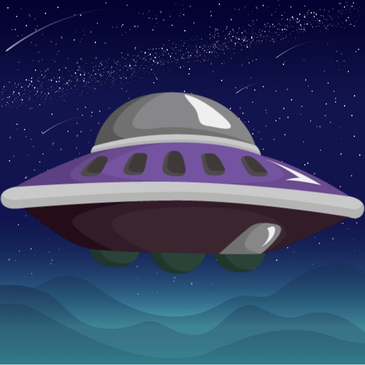UFO AND BALLOON Icon
