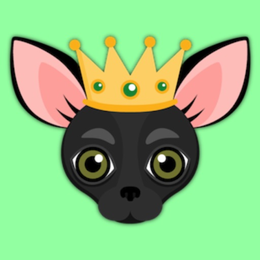 black chihuahua emoji stickers for imessage by marisa marquez