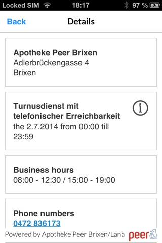 Notdienst Südtirol screenshot 4