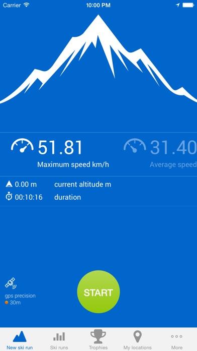 Ski run - ski/snowboard GPS tracker on the App Store