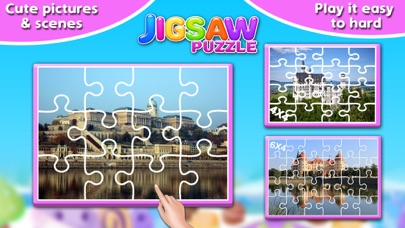 Screenshot #7 for Princess Castle Jigsaw Puzzle - Jiggy Puzzle Pack