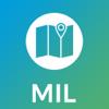 米兰市地图