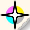 COLOREST Glitter Pigment Coloring Book icon