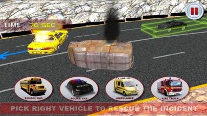 911緊急救助消防車運転シミュレータのスクリーンショット3