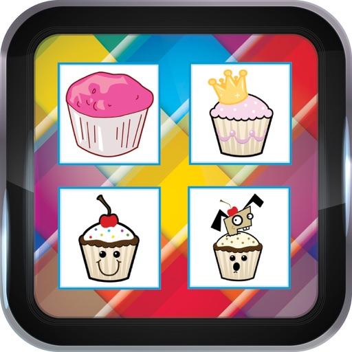 Cupcake Memory Games For Kids iOS App