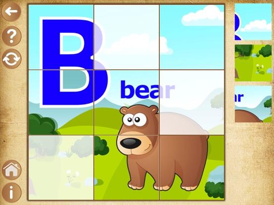 Скачать Алфавит пазлы для детей и малышей - детские игры