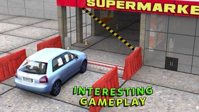 スーパーマーケットの車 - 市街モールシミュレータのスクリーンショット3