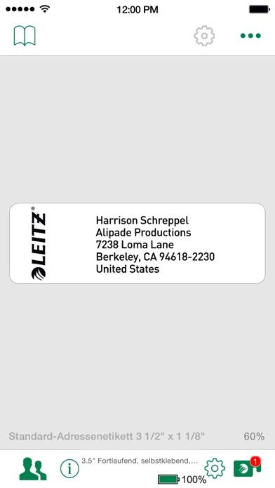 Screenshot von Leitz Icon Software2