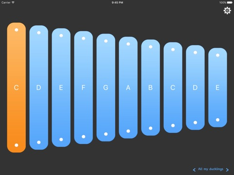 Magic Xylo Lite - learn to play xylophone screenshot 1
