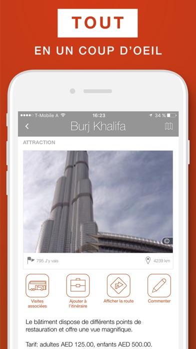 Dubaï – guide de voyage & carte offlineCapture d'écran de 3
