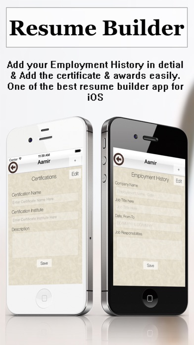 resume builder plus - cv maker and resume designer app download