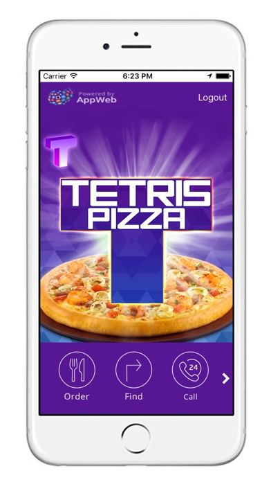Tetris Pizza screenshot