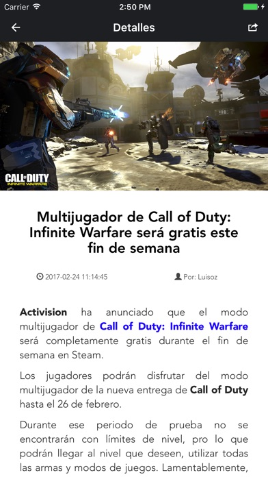 Yo Soy un Gamer Screenshot on iOS