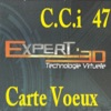 CCI FABLAB 47 Carte de Voeux 2014