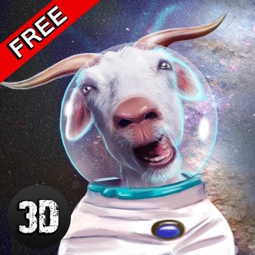 Crazy Space Goat Simulator 3D - 2 iOS App