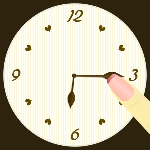 Rolling Beauty Clock Game iOS App