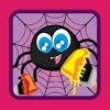 Game for Family Coloring Spider Drawing family