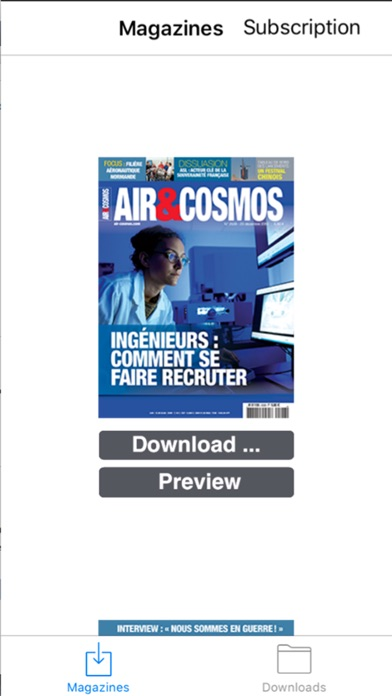 download Air&Cosmos apps 1