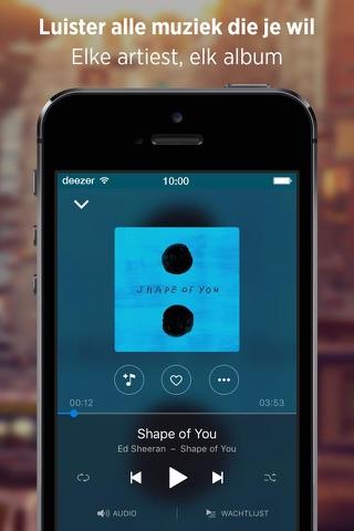Deezer: Play Music, Radio, MP3 screenshot 1