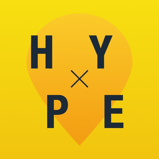 Hype - discover fantastic places & events iOS App