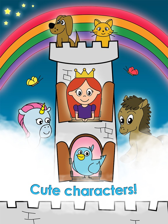 Screenshot #4 for Princess Games for Girls Games Unicorn Kids Puzzle