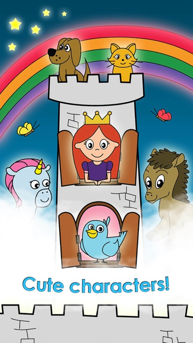 Screenshot #8 for Princess Games for Girls Games Unicorn Kids Puzzle