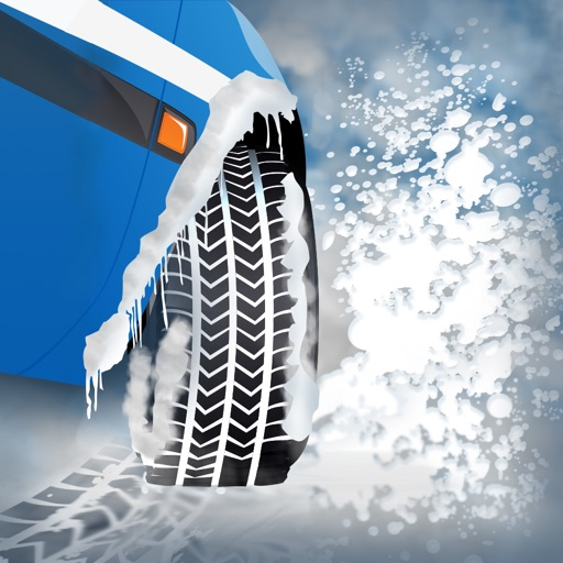 Winter Snow Tires Agility Race : The Arctic Car Ice Traction Road - Free Edition iOS App