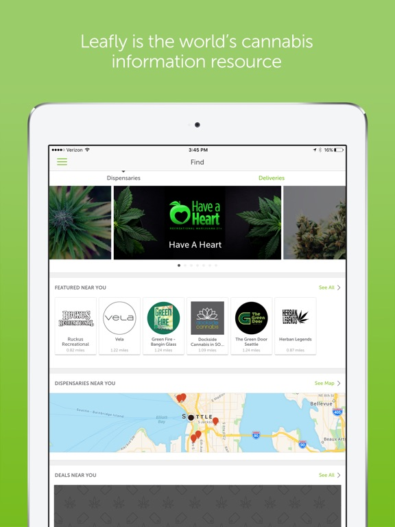 Leafly: Marijuana Reviews Screenshots