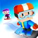 Blocky Snowboarding - Runner Arcade Infini
