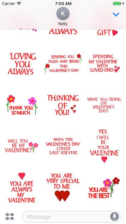 valentine day stickers - Valentines Day Stickers