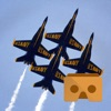 VR Blue Angels with Google Cardboard Edition 360