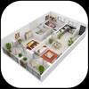Home Designs - Interior 3D home design house plan