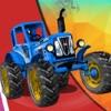 Tractor Wheelie Stunts